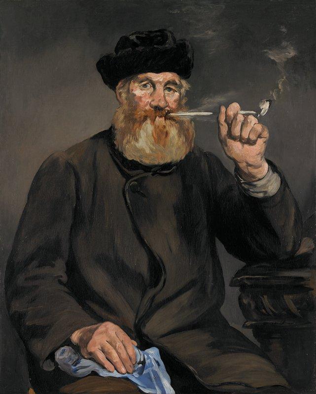 the smoker   u00c9douard manet  u02c6 mia