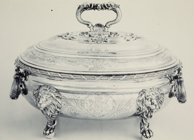 The Hardwicke Soup Tureens, originally one of a pair.