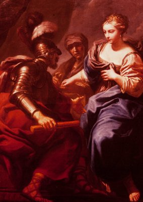 Judith presented to Holofernes