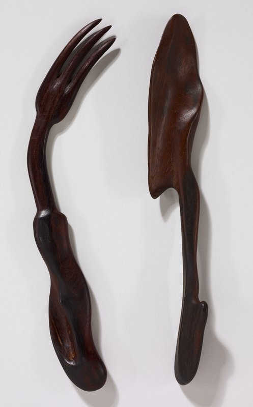 biomorphic shapes; spatulate blade