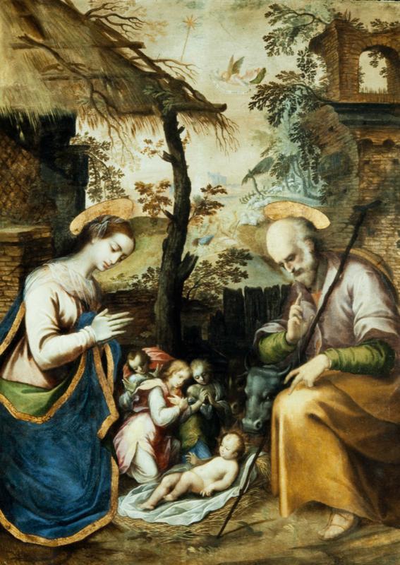 Holy Family (alone); 'Trinitas terrestris'