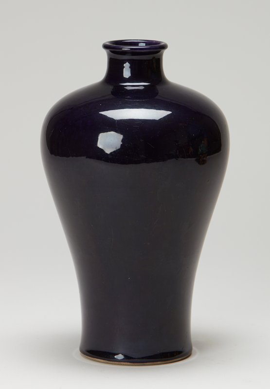 Mei-Ping, cabinet sized, deep violet