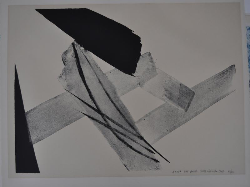 black triangle, LLC; black line top center; lighter grey lines with some diagonal marks