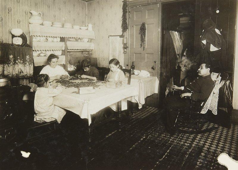 homeworkers, New York City