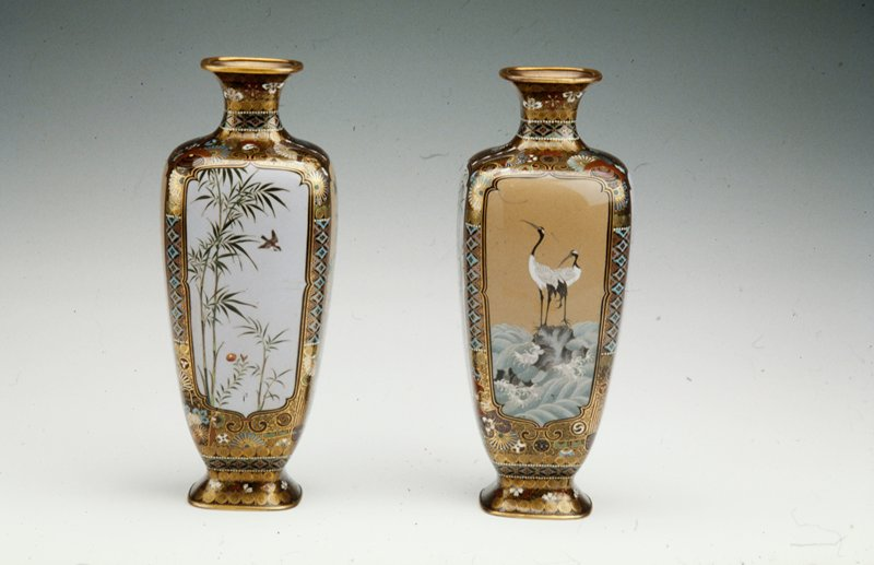 Pair of Vases, one of a pair