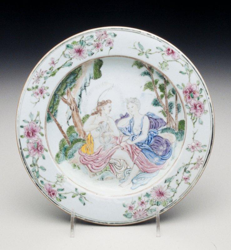 plate, ceramic, Chinese Export