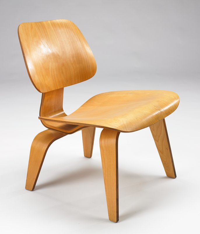 Lounge Chair, Molded Birch Plywood