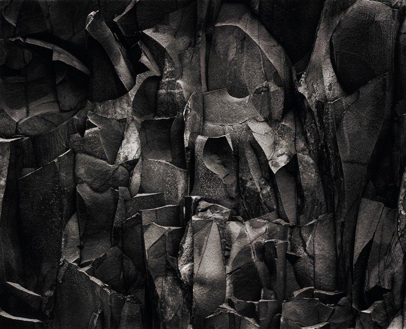 close up of rock wall