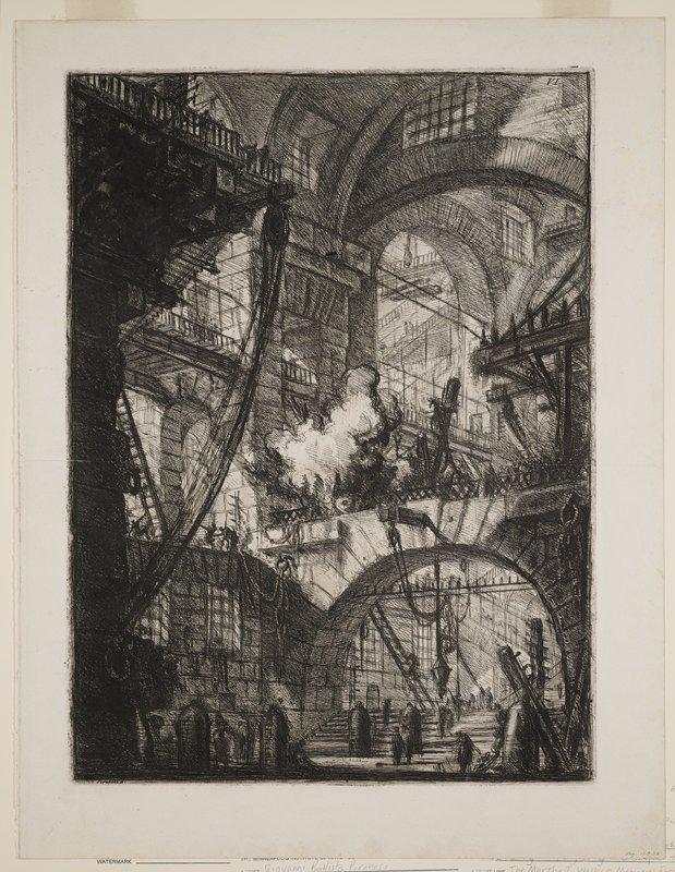 Plate 6 from Carceri d'Invenzione