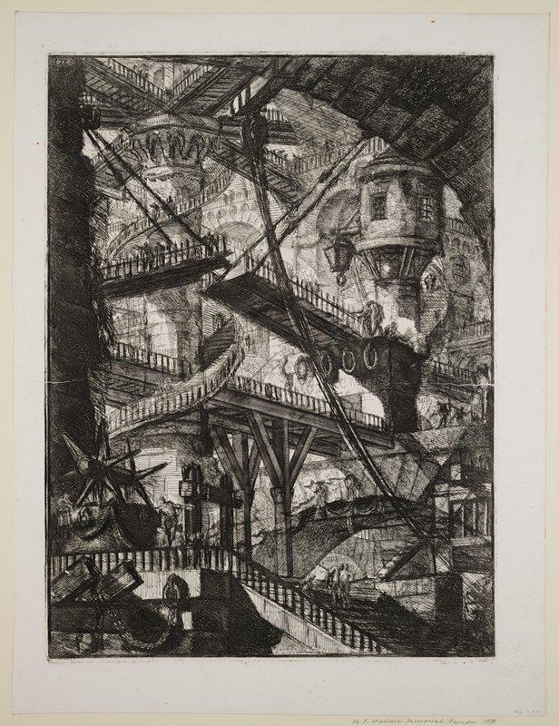 Plate 7 from Carceri d'Invenzione