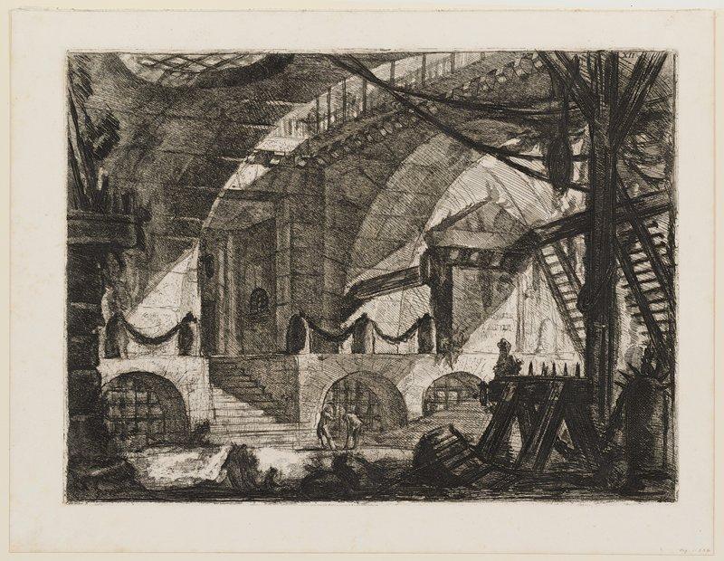 Plate 12 from Carceri d'Invenzione