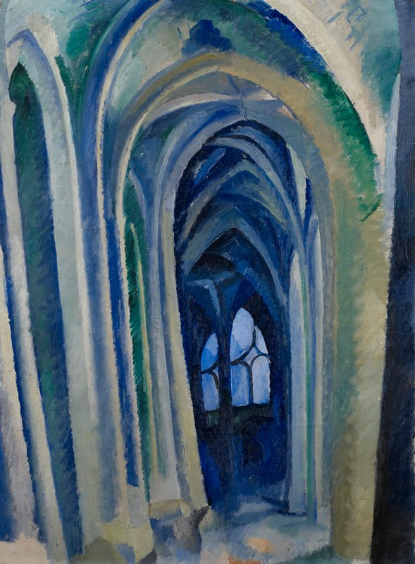 Cathedral interior. Orphism.