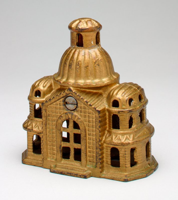 gold domed building