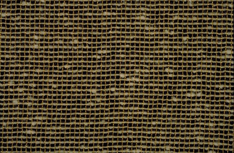 Gold warp, white weft Gold warp, white weft (Metallic gold/white)