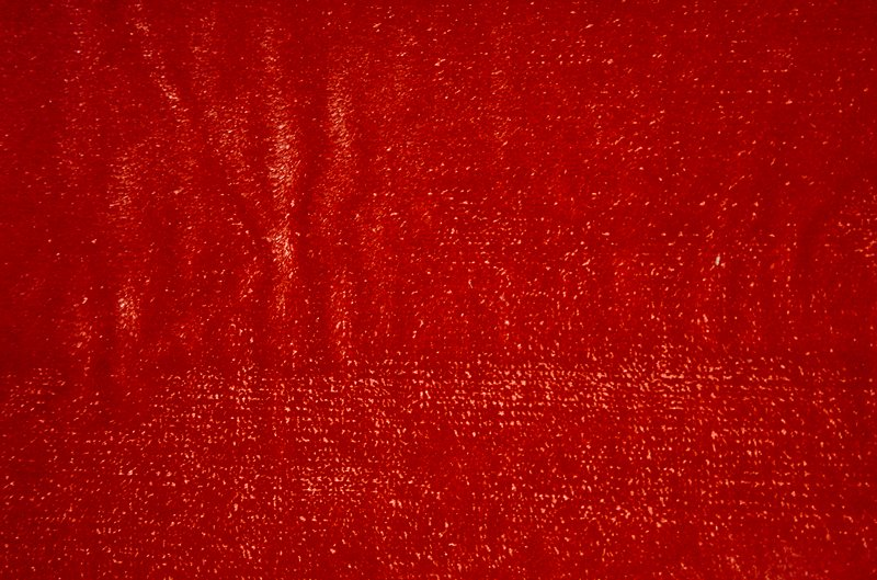 Linen Velour Red Sienna Red