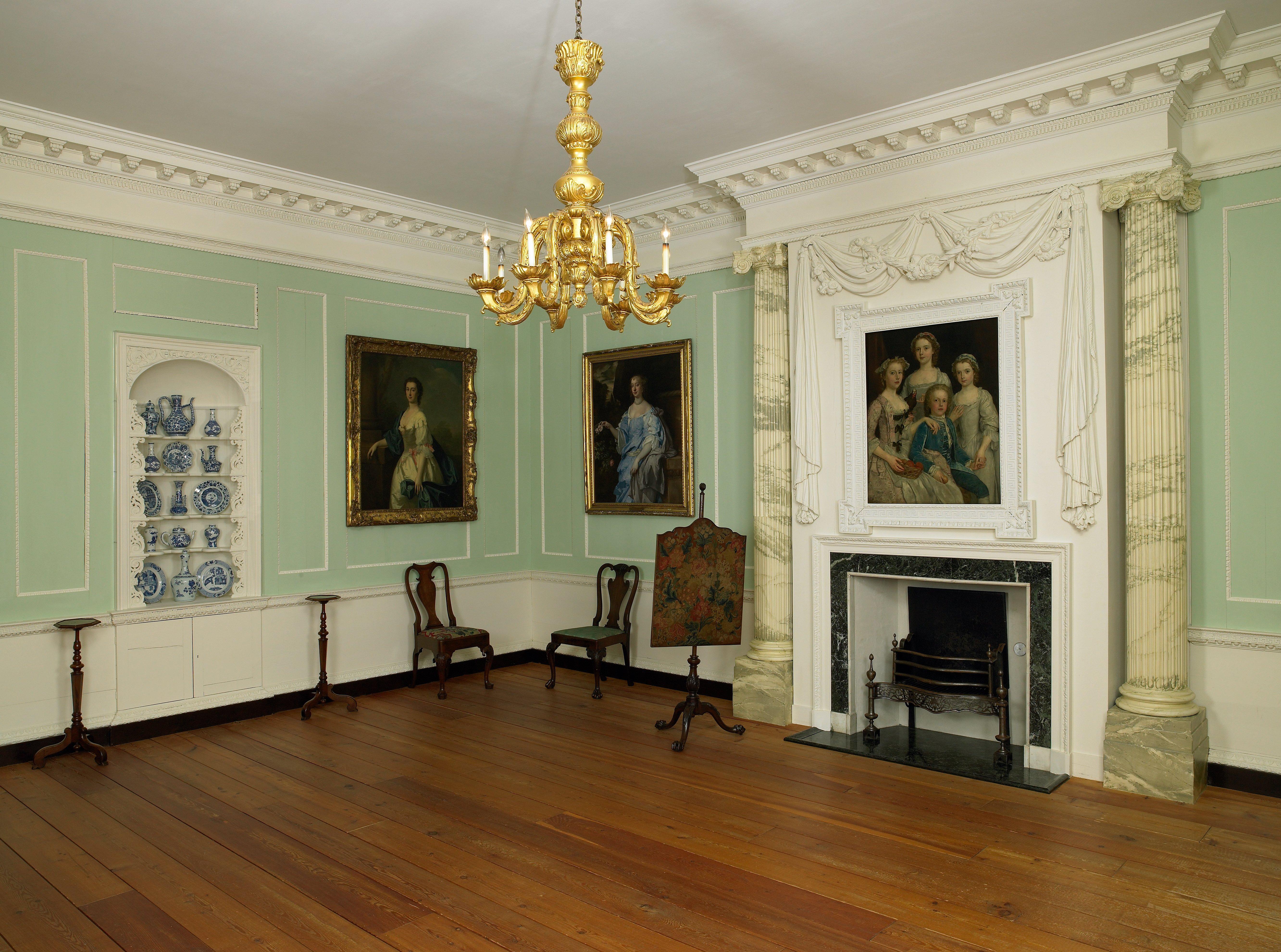 Georgian drawing room, England | Mia
